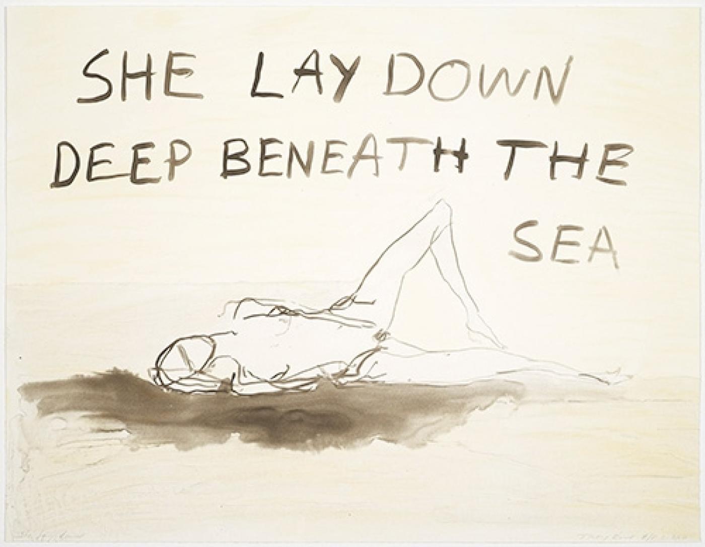 She Lay Down