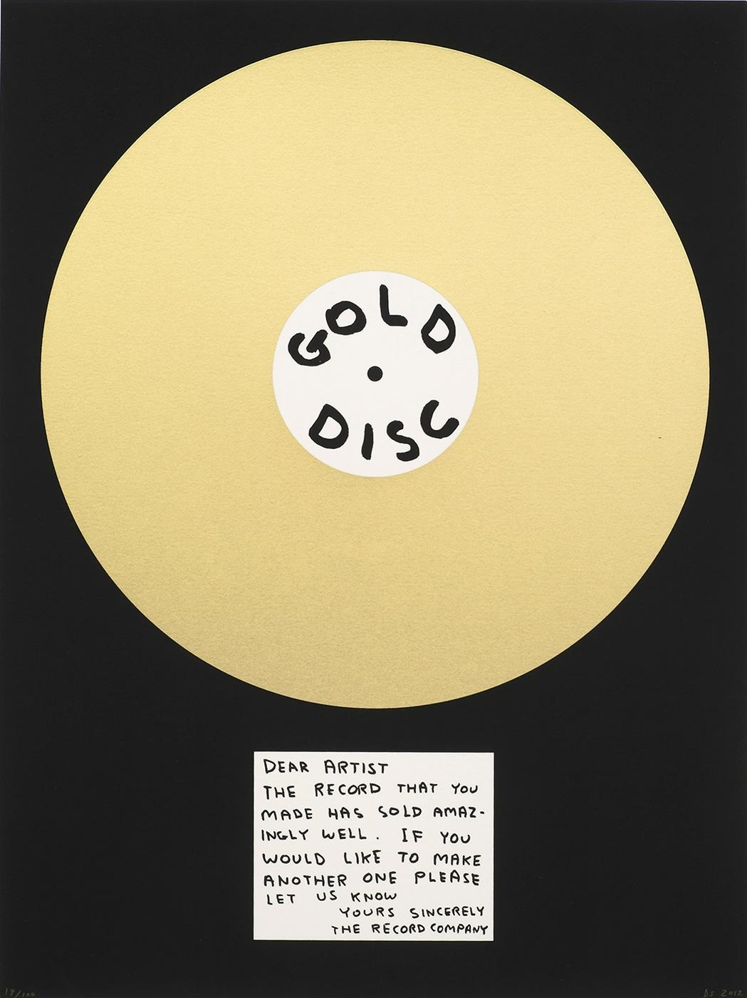 Gold Disk (2012)  Sold Out